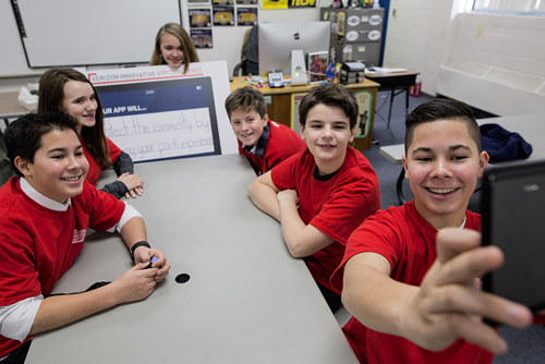 Earth Day spotlight: Middle schoolers invent app to clean up local parks