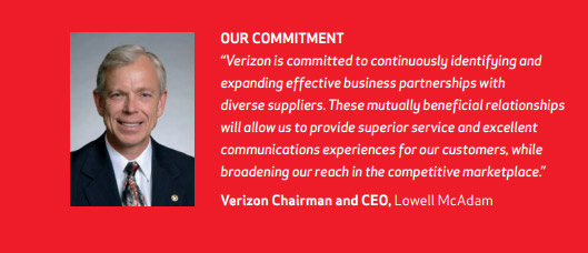 Lowell McAdam on Verizon's commitment to diverse suppliers