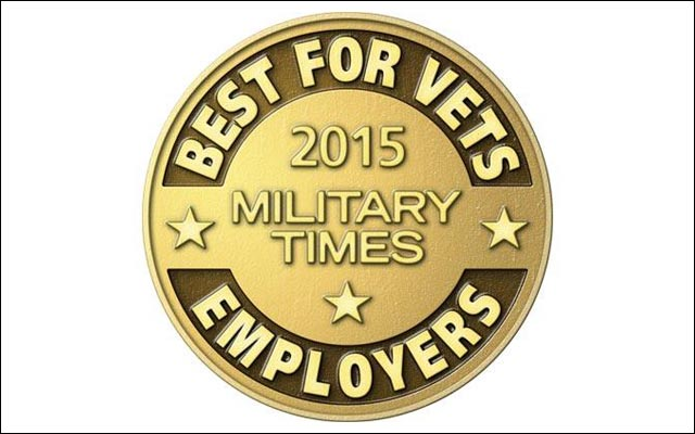 NO. 1 military employer
