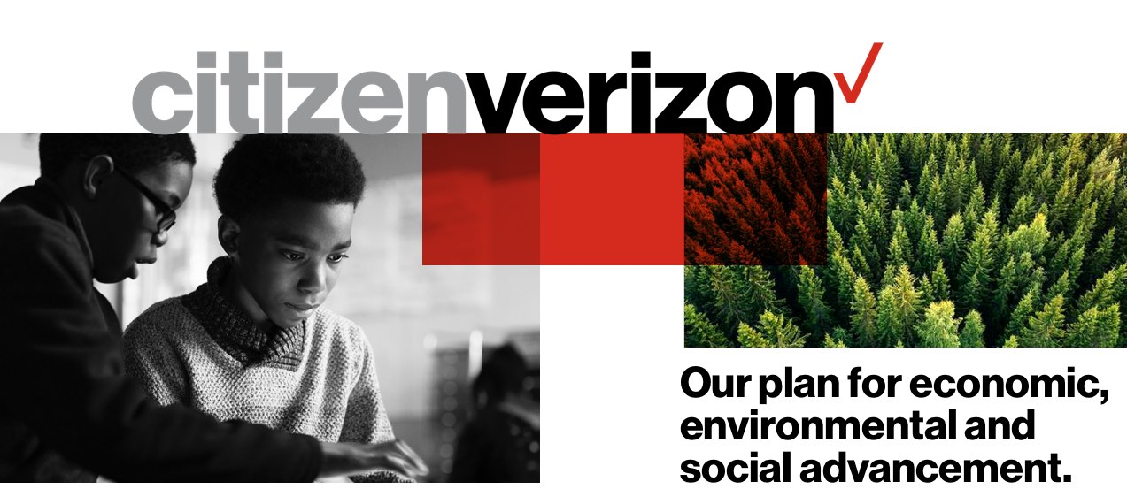 Citizen Verizon. Our plan for economic, environmental and social advancement.