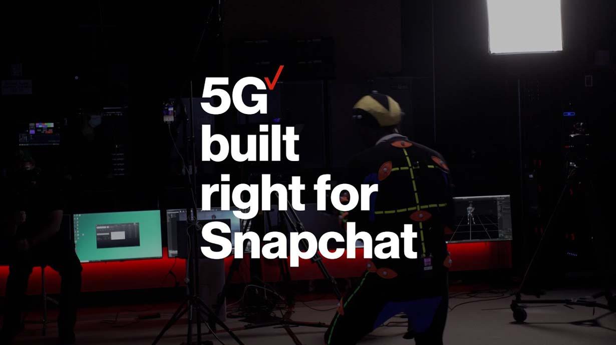 5G Built Right for Snapchat | Verizon