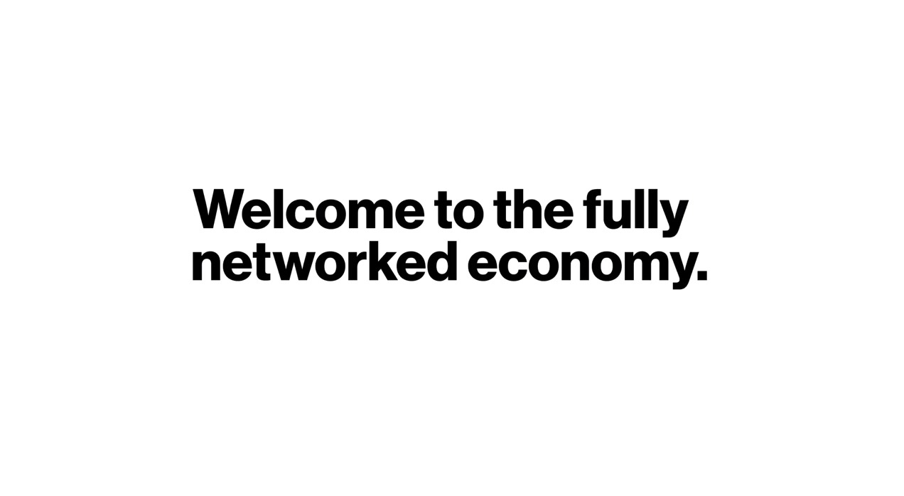 Welcome to The Fully Networked Economy | Investor Communications | Verizon