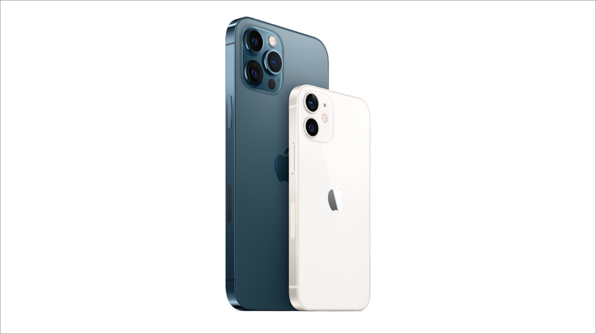The all-new iPhone 12 Pro Max and iPhone 12 mini with 5G, available to order from Verizon on 11/6