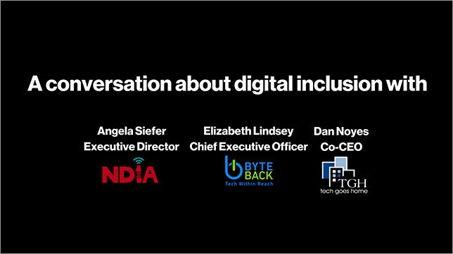 Accelerating America: Digital Inclusion Youtube Video