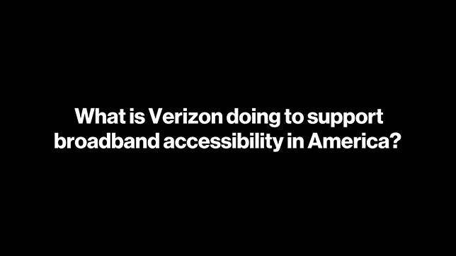 Accelerating America: Broadband Access Youtube Video
