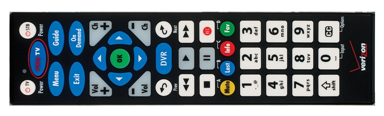 Fio TV Big Button Remote