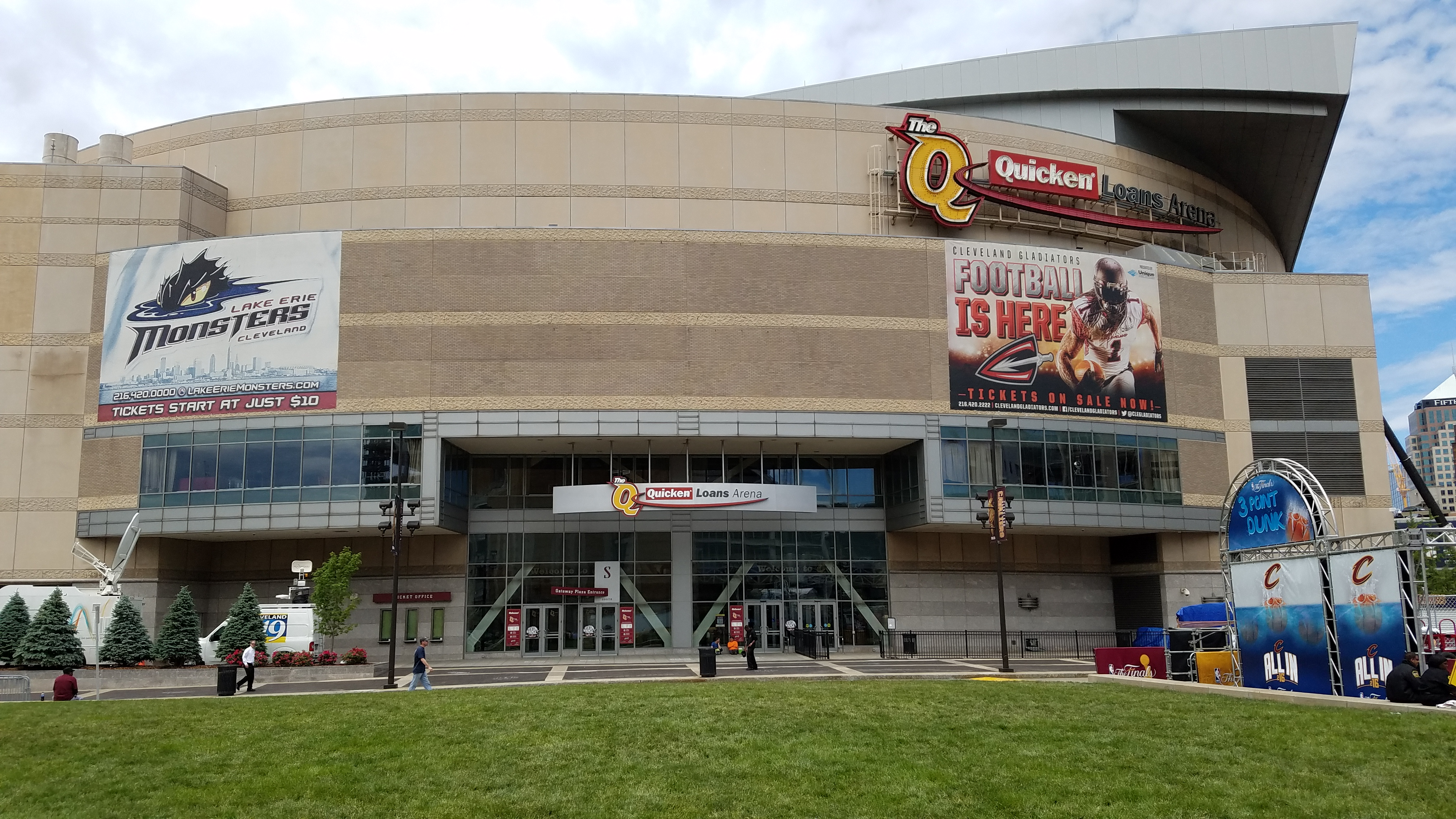 In Cleveland, Quicken Loans Arena will share its championship stage next month as the Republican National Convention (RNC) takes place July 18-21