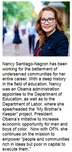 Nancy Santiago-Negron has been working for the betterment of underserved communities for her entire career.