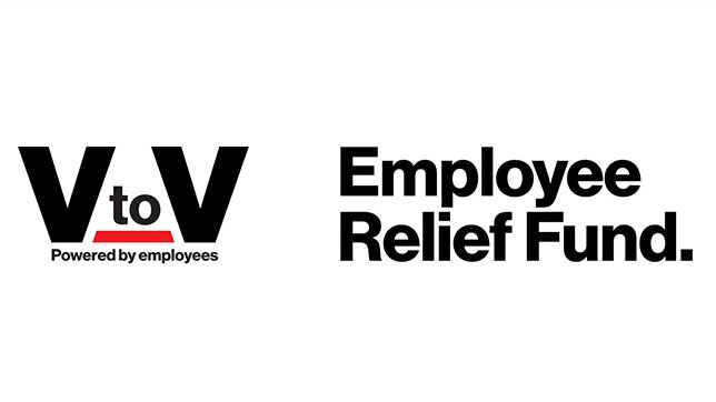 Verizon V2V Employee Giving Program Logo
