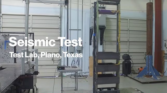 Seismic Test - Test Lab, Plano Texas