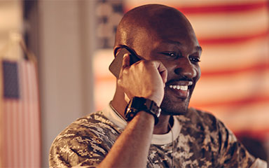 Contact a military recruiter