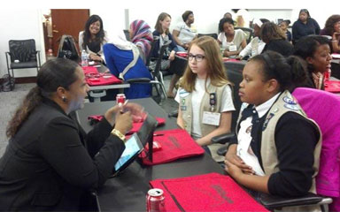 Verizon gives D.C. girl scouts the 411 on STEM