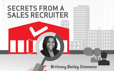 Secrets From a Sales Recruiter: Brittany Simmons