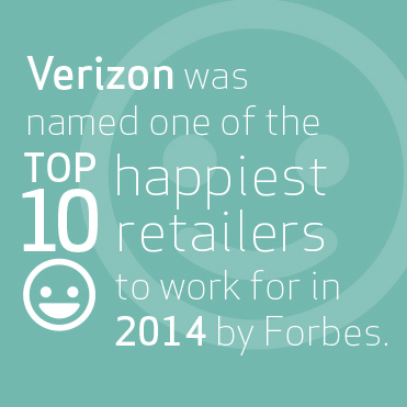 One of the top 10 happiest retailers to work for in 2014 by Forbes