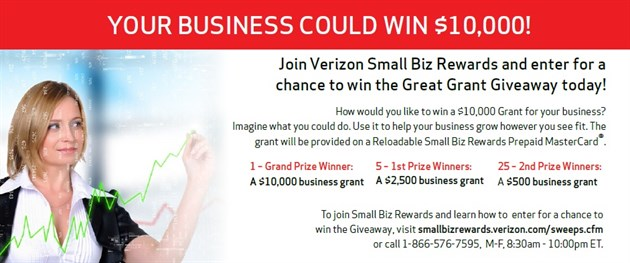 Small Biz Grant Sweepstakes