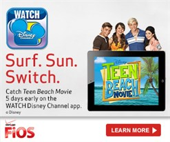 Surf Sun Switch Teen Beach Movie Poster