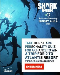 Shark Week Contest Logo