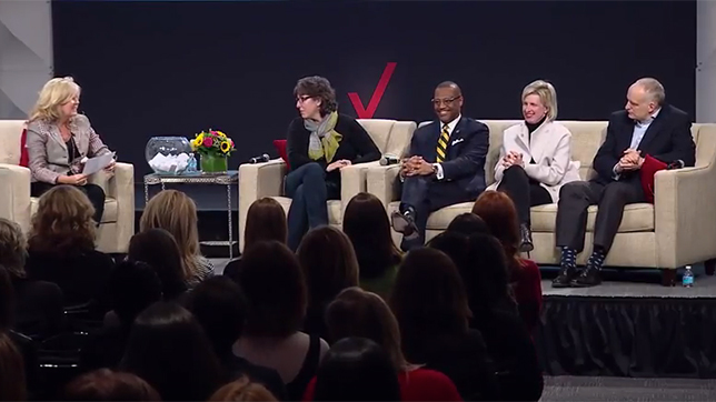 Video of Q&A at International Womens Day Webcast