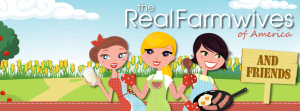 The Real Farmwives of America logo