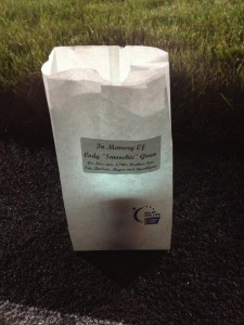 Luminary at Benton County Relay for Life
