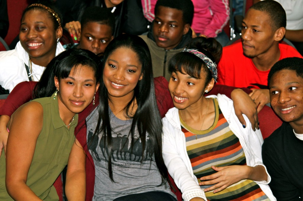 keke palmer corliss high school 2