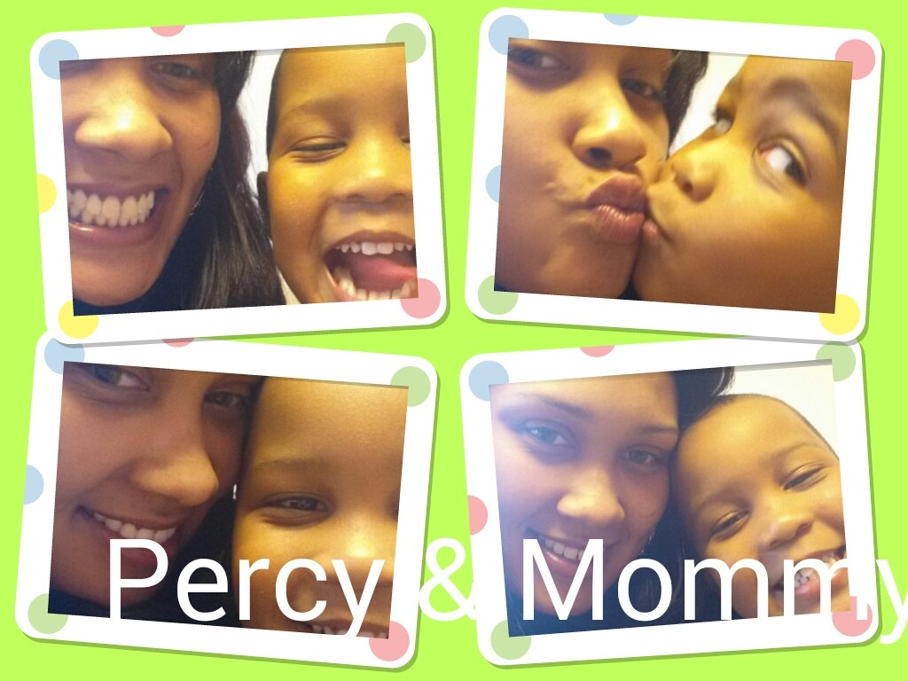 Percy  & Mommy