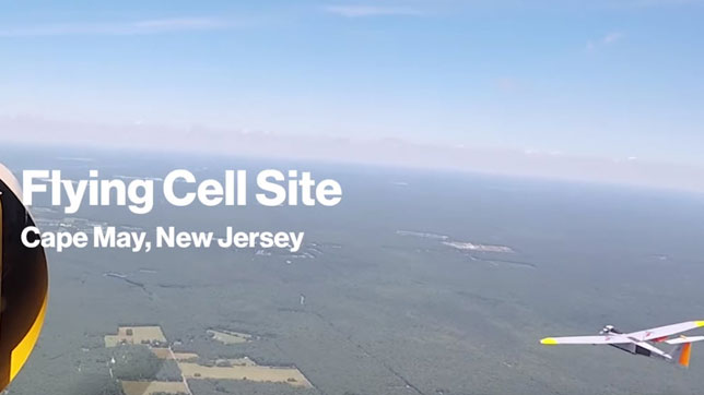 Image of Flying Cell Site
