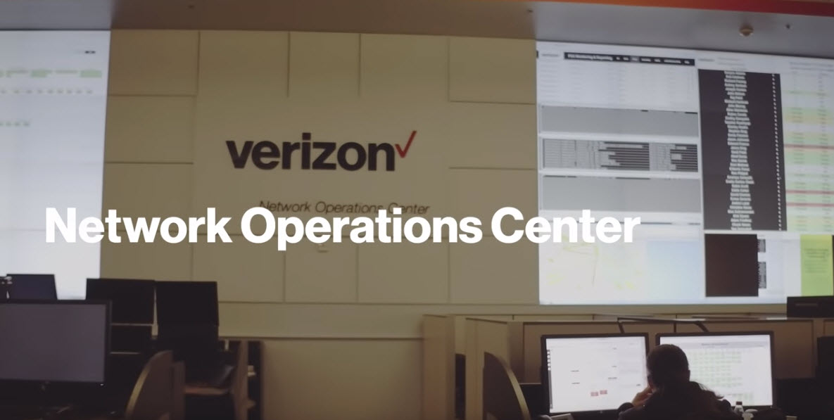 Image of Verizon Network Operations Center