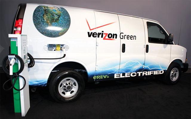 VIA Motors green van