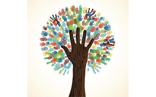 Earth Day tree
