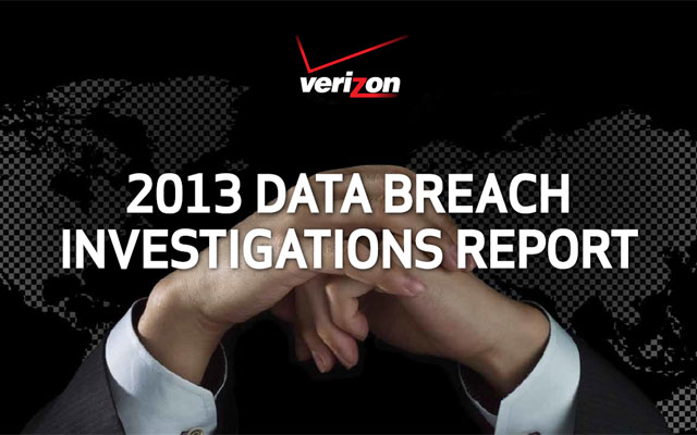 Verizon 2013 Data Breach Investigations Report