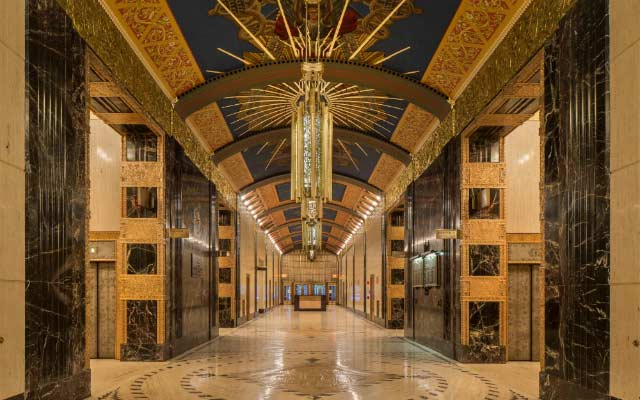 Lobby of 140 West Street