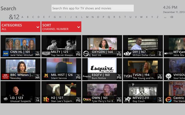FiOS TV App for Xbox One