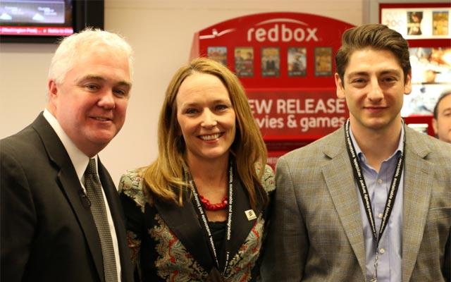 Verizon's Jim Gowen and Ericsson's Elaine Weidman-Grunewald