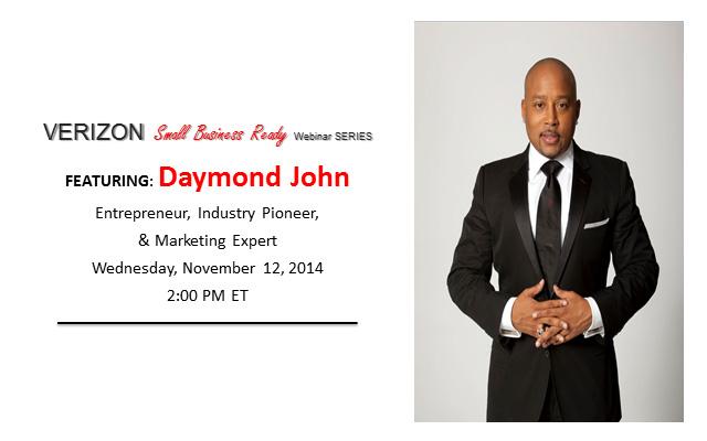 Daymond John SMB webinar