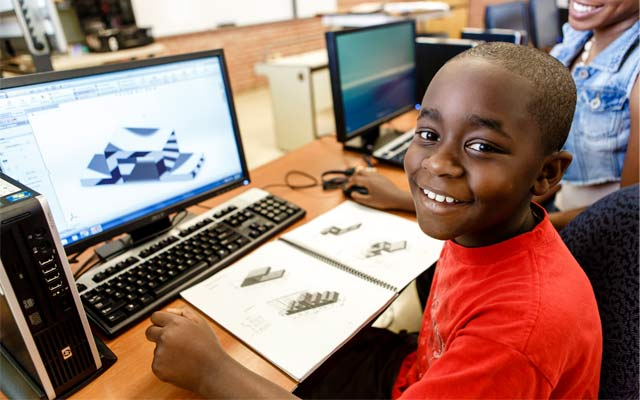 Hundreds of middle school boys will head to college this summer for hands-on lessons in coding, 3D design and entrepreneurship