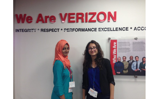 Verizon's 2014 Tech Girls