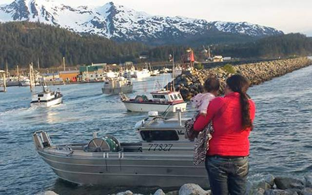 How a family stays connected during Alaska's fishing season