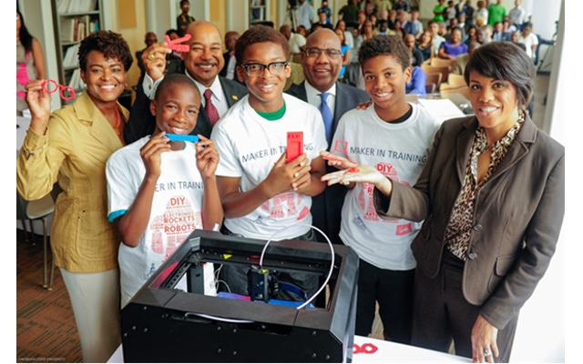 Students share their 3-D printed creations