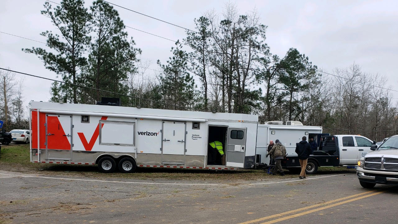 Verizon supports communities impacted by recent Alabama and Georgia tornadoes