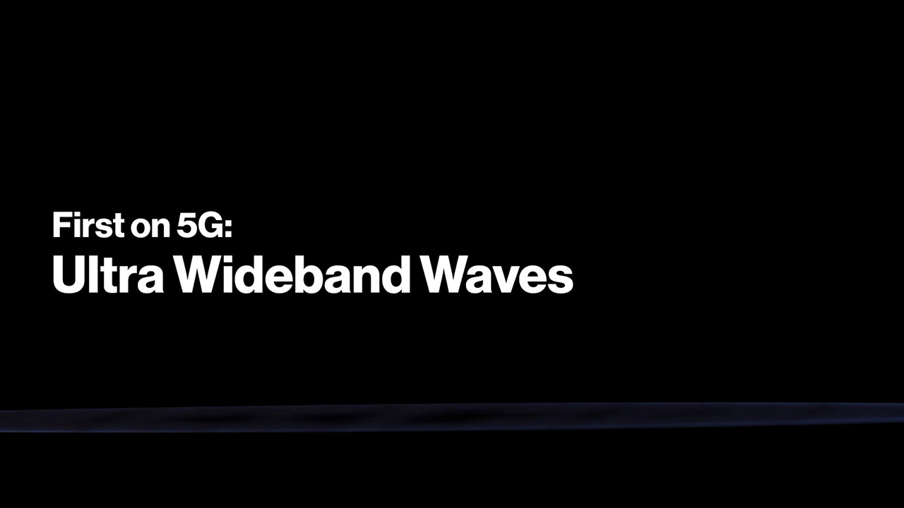 5G Ultra Wideband Waves - Best for a Good Reason