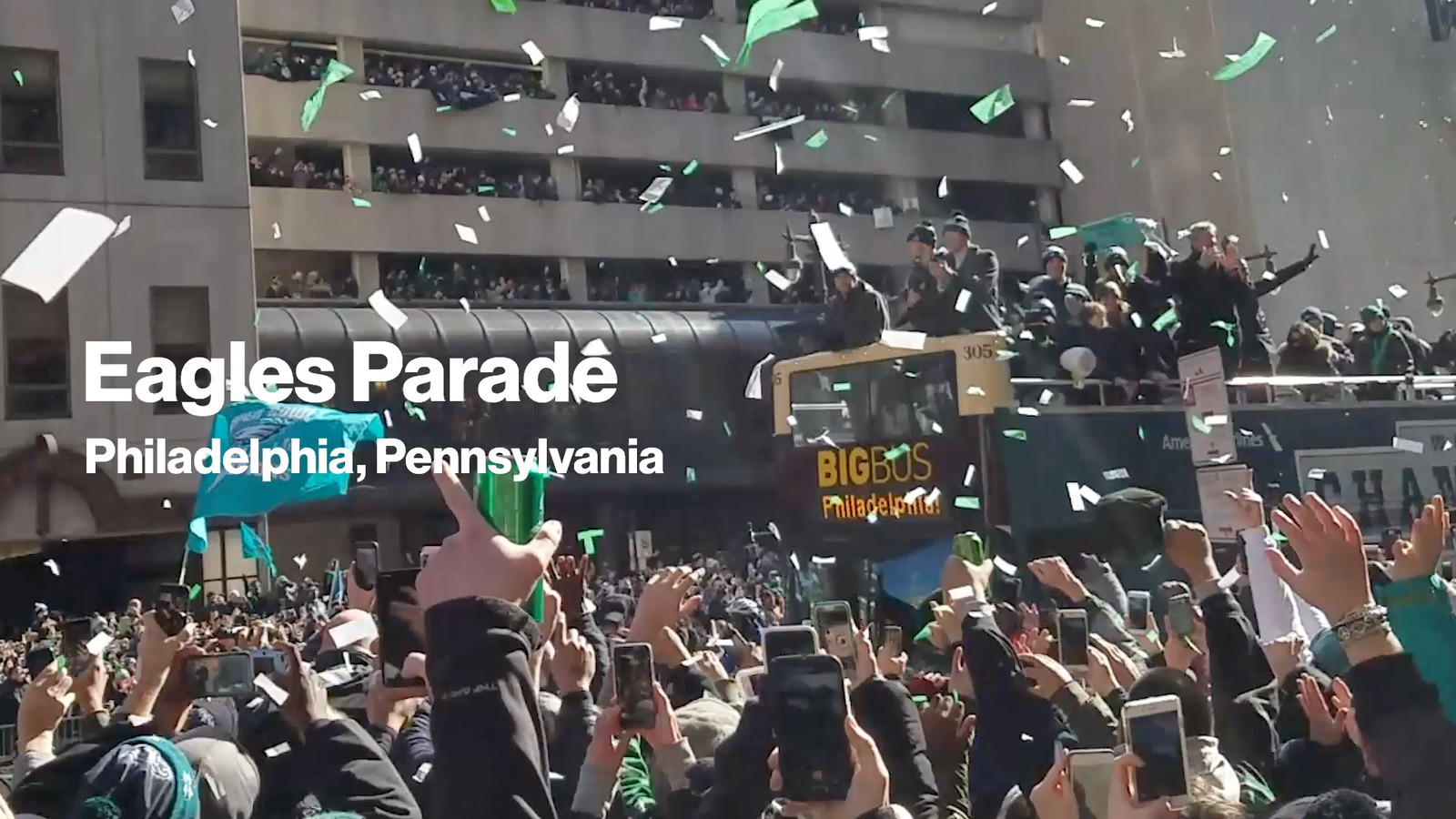 Eagles Parade - Best for a Good Reason Video