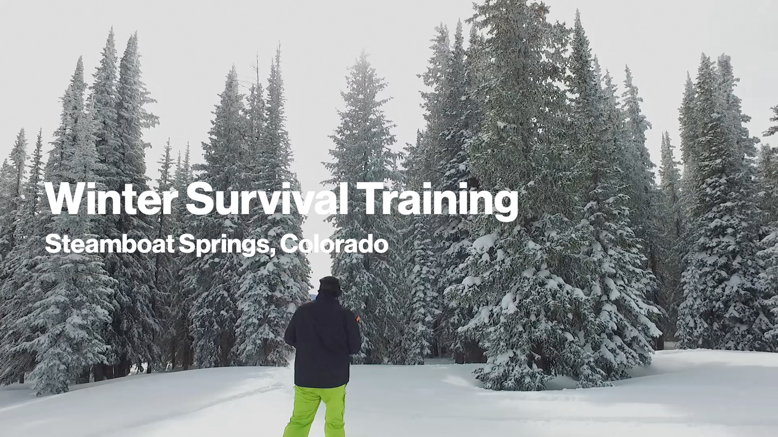 Winter Survival Training - Best for a Good Reason Video