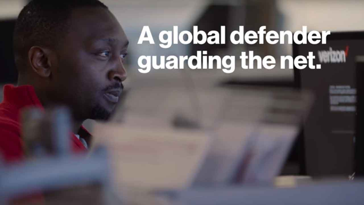 Play Video - A global defender guarding the net