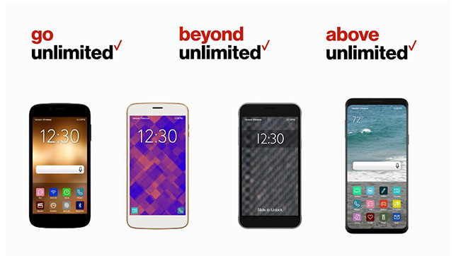 At Verizon, you can now mix and match three different unlimited plans for your family