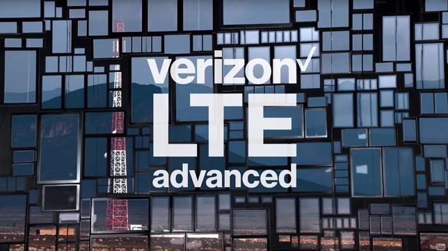 Verizon LTE Advanced Logo