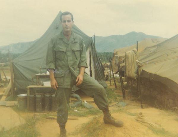 Ivan Seidenberg during his service in Vietnam.