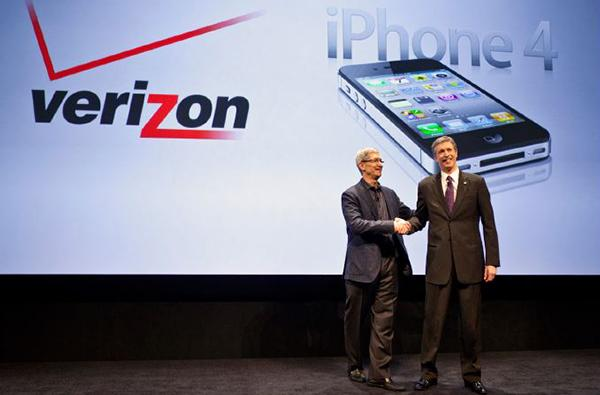 The Verizon iPhone launch.