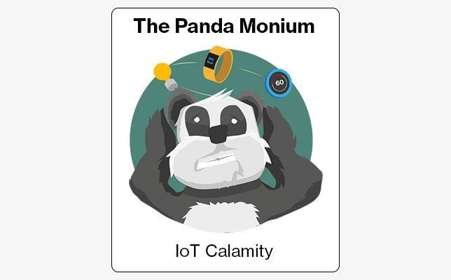 Panda Monium illustration