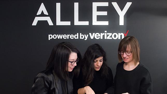 Verizon Alley Logo